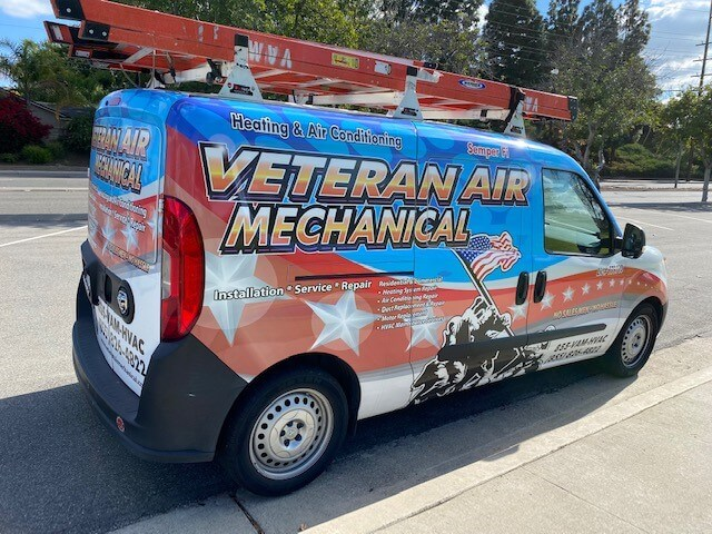 Veteran Air Mechanical Truck
